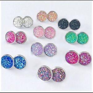 Coming Soon Mini Druzy Earrings